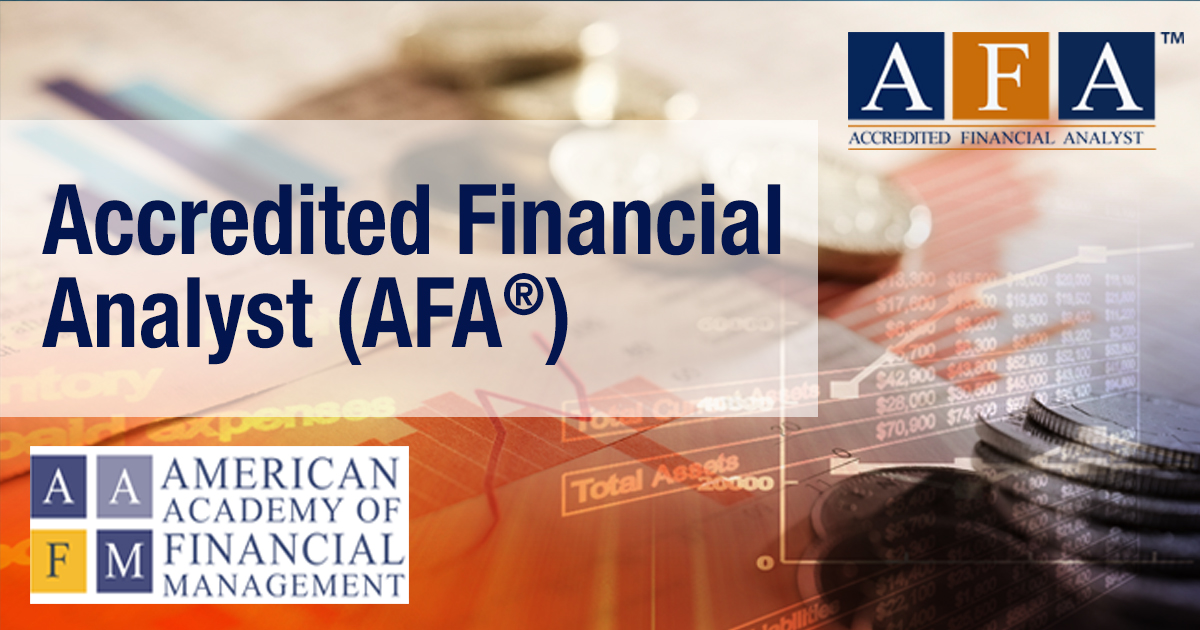 accredited financial analyst (afa™) philippines